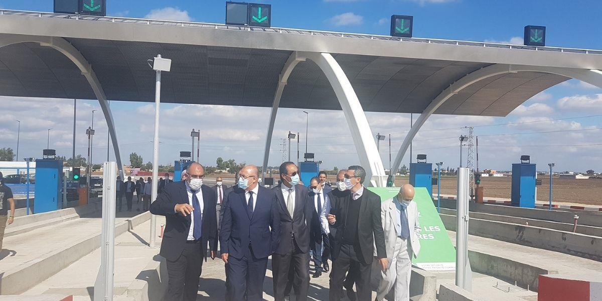 Inauguration de 2 gares de péage, nouvelle génération, au niveau de l'autoroute Casablanca-Berrechid