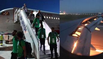 """بلاغ توضيحي لشركة """"طيران روسيا"""" حول حادث طائرة منتخب السعودية"""