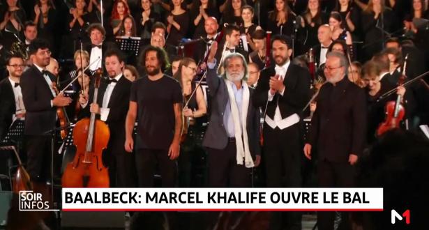 Festival de Baalbeck: Marcél Khalifé ouvre le bal