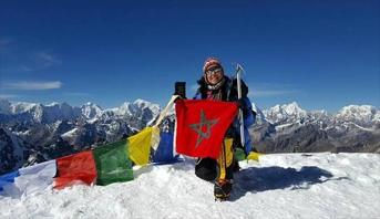 المغربية بشرى بايبانو في طريقها لتسلق جبل فينسون، آخر مرحلة في تحديها للقمم السبع