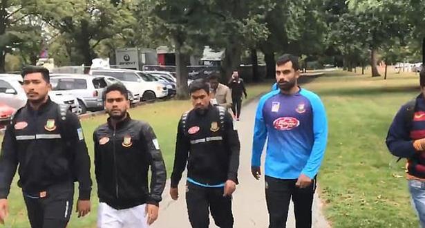 منتخب بنغلادش للكريكيت ينجو من الهجوم الإرهابي على مسجدين بنيوزيلندا