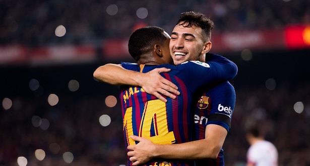 منير الحدادي يساهم في بلوغ برشلونة ثمن نهائي كأس إسبانيا