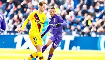 Le Barça vainqueur sans briller contre Leganès, En-Neysri buteur