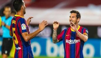 برشلونة يكشر عن أنيابه مبكرا ويهزم فياريال برباعية