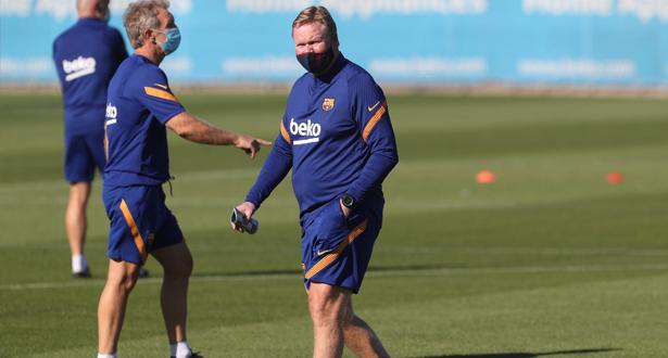 ميسي يغيب عن الحصة التدريبية الاولى لبرشلونة استعدادا للموسم الجديد