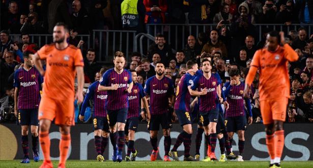 دوري الأبطال.. برشلونة يحجز مقعده في ربع النهائي