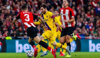 ليلة سقوط الكبار .. برشلونة يسقط أمام بلباو ويودع كأس ملك إسبانيا
