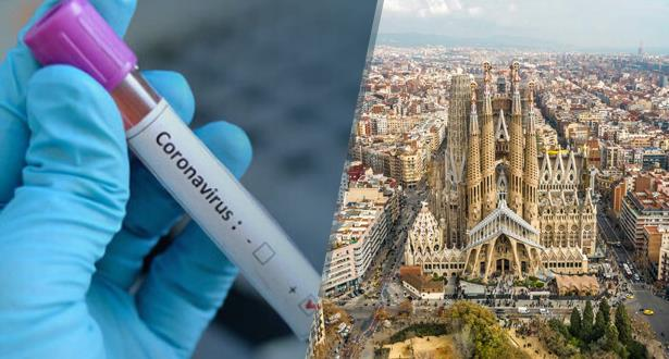 تسجيل أول حالة إصابة بفيروس كورونا في برشلونة