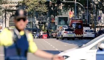 """التعرف على هوية مشتبه به في اعتداء برشلونة و""""داعش"""" تعلن مسؤوليتها"""