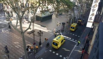 صحيفة: مقتل مهاجم في واقعة دهس ببرشلونة في إطلاق نار مع الشرطة