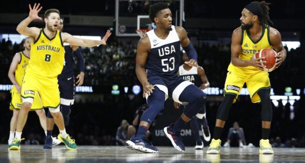 لأول مرة .. أستراليا تهزم نجوم السلة الأمريكية