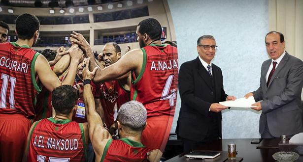 الوزير يتدخل وبرنامج مستعجل لإخراج كرة السلة المغربية من أزمتها