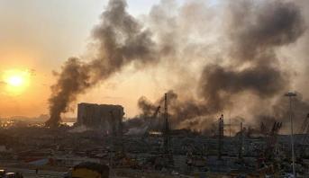 """المجلس الأعلى للدفاع اللبناني يعلن بيروت """"مدينة منكوبة"""""""