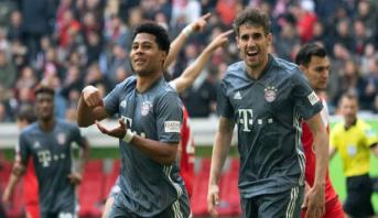 بايرن ميونيخ يستعيد صدارة الدوري الألماني