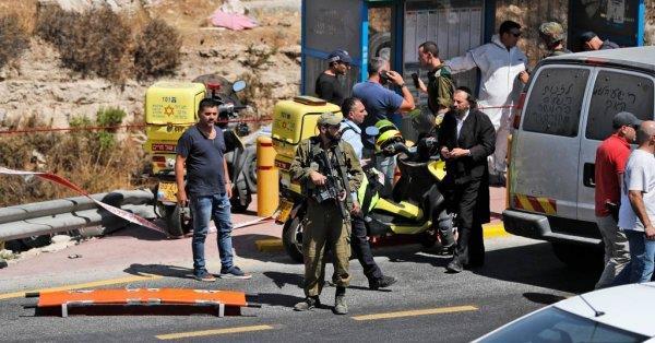 جريحان إسرائيليان في عملية دهس بالضفة الغربية