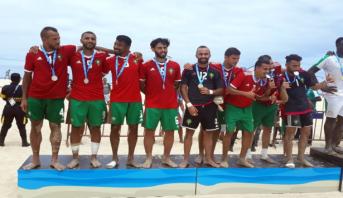 Jeux Africains de Plage: le Maroc décroche l'argent