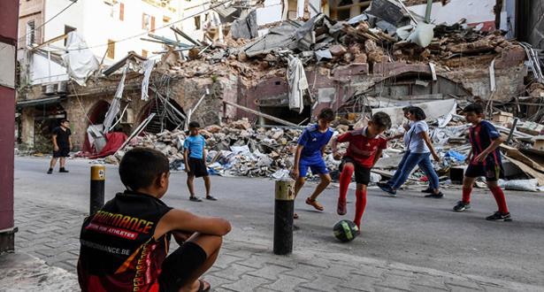انفجار المرفأ قد يحرم ربع أطفال بيروت من التعليم