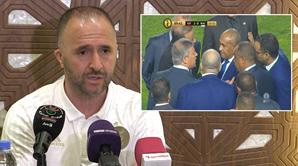 """مدرب منتخب الجزائر يعلق على """"فضيحة رادس"""""""