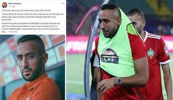 Après l'élimination, Benatia sort de son silence et adresse un message aux Marocains