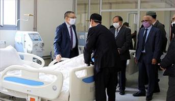 بني ملال .. افتتاح مركز جديد لتصفية الدم خاص بمرضى القصور الكلوي المحتمل إصابتهم بفيروس كورونا
