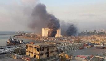 السفارة المغربية بلبنان: إصابة مواطنة مغربية في الانفجار الذي هز مرفأ بيروت