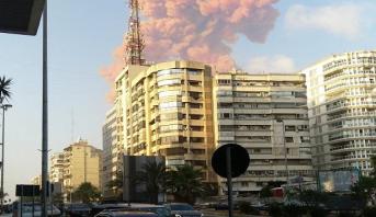 Forte explosion entendue à Beyrouth