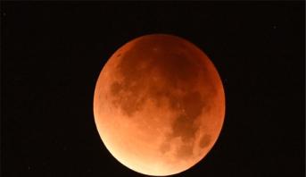 Eclipse totale de Lune le 21 janvier