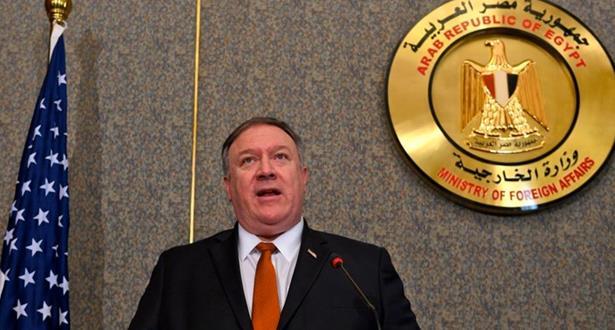 """بومبيو يدعو دول الشرق الأوسط إلى تجاوز """"الخصومات القديمة"""" لمواجهة إيران"""