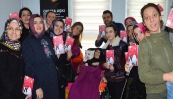 تركية مصابة بشلل شبه كامل تكتب رواية بأصبع واحدة