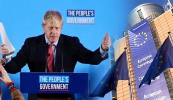 """بعد فوز جونسون .. المفوضية الأوروبية ترغب في""""إعادة بناء"""" العلاقات مع لندن"""