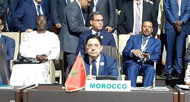 بوريطة يمثل الملك محمد السادس في القمة الاستثنائية الـ 12 للاتحاد الإفريقي في نيامي