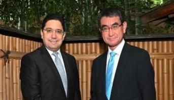 بوريطة : جلالة الملك يولي أهمية خاصة لتطوير العلاقات بين المغرب واليابان