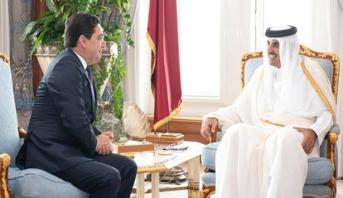 رسالة من الملك محمد السادس إلى أمير دولة قطر