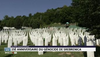 Bosnie-Herzégovine: 25e anniversaire du génocide de Srebrenica