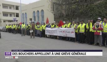 Casablanca: des bouchers appellent à une grève générale