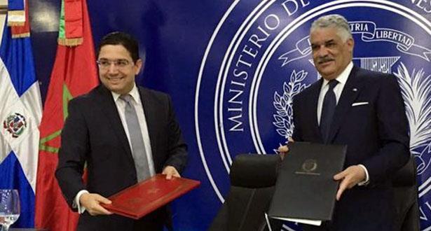 توقيع اتفاقيتين للتعاون بين المغرب وجمهورية الدومينيكان