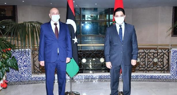 عقيلة صالح يثمن جهود المغرب التي بدأت تعطي ثمارا إيجابية في إطار الحوار الليبي
