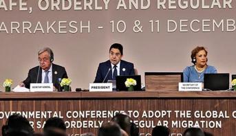 بوريطة: الميثاق الدولي من أجل هجرة آمنة ومنظمة ومنتظمة يعد عملا سياديا