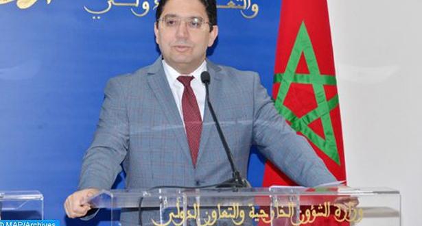"""بوريطة: المغرب أضحى """" فاعلا أساسيا """" في إفريقيا بفضل الرؤية الملكية"""