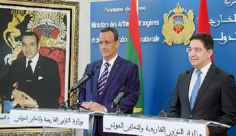 Le Maroc et la Mauritanie examinent à Rabat les moyens de renforcer leurs relations bilatérales