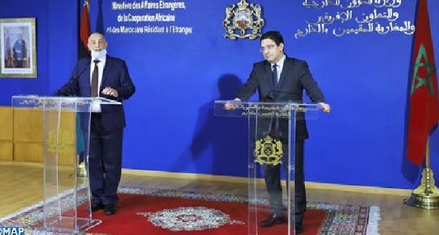 """بوريطة : المغرب يؤيد اتفاق وقف إطلاق النار في ليبيا ويعتبره """"تطورا إيجابيا جدا"""""""