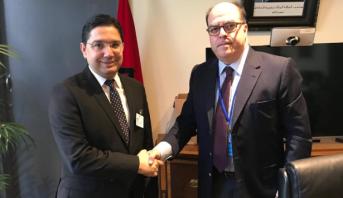 بوريطة يتباحث بنيويورك مع مفوض الشؤون الخارجية لرئيس الجمعية الوطنية الفنزويلية