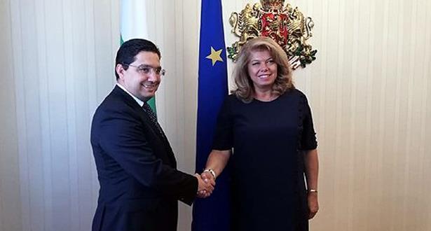 نائبة رئيس بلغاريا تستقبل وزير الخارجية المغربي ناصر بوريطة