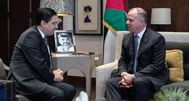 نائب العاهل الأردني يستقبل وزير الشؤون الخارجية والتعاون الدولي