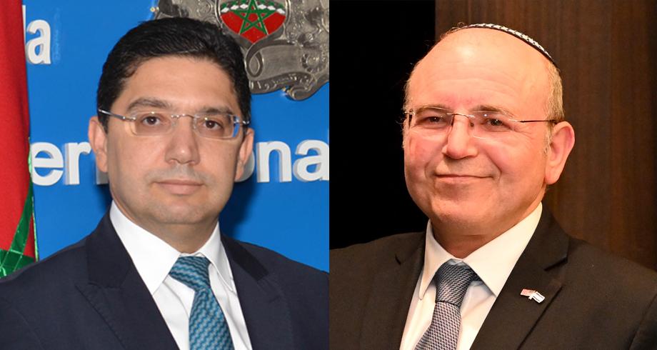 بوريطة يتباحث مع مستشار الأمن القومي الإسرائيلي