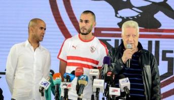تصريح خالد بوطيب بعد الانضمام رسميا إلى الزمالك المصري