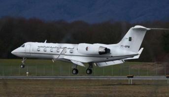 طائرة بوتفليقة الرئاسية تغادر مطار جنيف في طريقها للجزائر