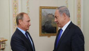 نتانياهو يحذر بوتين من نقل أسلحة متطورة الى سوريا