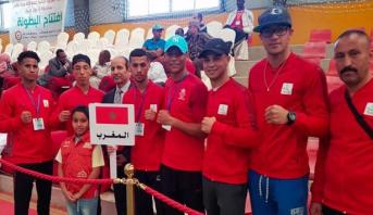 البطولة العربية الثالثة للملاكمة .. المنتخب المغربي يحرز ست ميداليات منها ذهبية واحدة