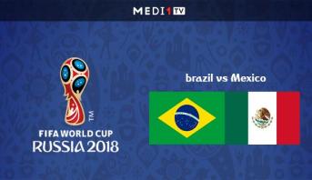 مونديال 2018 .. تشكيلتا البرازيل والمكسيك